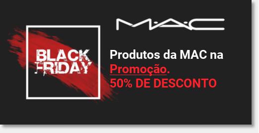 Banner promocoes mac 50% de desconto na sephora