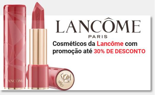 Banner promocoes lancome cosmetico + miniatura na sephora
