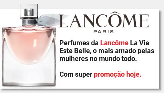 Banner promoção la vie est belle lancome na amazon