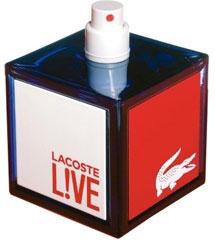 Perfume Lacoste Live - Lacoste - Eau de Toilette Lacoste Masculino Eau de Toilette