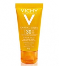 Protetor solar Capital Soleil Toque Seco FPS 30 - Vichy Vichy Unissex