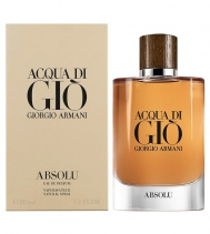 Comprar [Perfow] Armani Acqua Di Gio Absolu Eau De Parfum For Men 75Ml na Wal-Mart