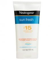 Protetor solar Sun Fresh FPS 15 Neutrogena Unissex